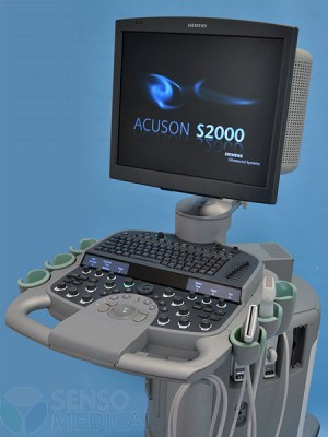 Aparat USG Ultrasonogaf PREMIUM Siemens S2000 Acuson z zaawansaowaną elastografią
